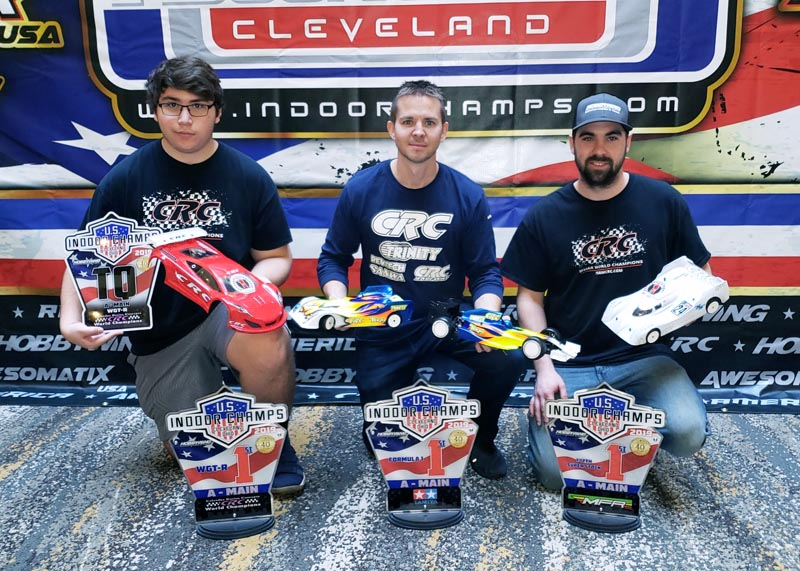 3 drivers – 4 victories at the 2019 US Indoor Champs in Cleveland